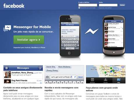 O aplicativo permite gravar mensagens de voz para enviar aos contatos do Facebook Foto: Reprodução