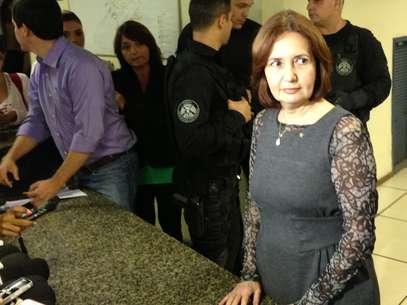 A delegada Martha Rocha falou sobre as prisões nessa quarta-feira Foto: André Naddeo / Terra