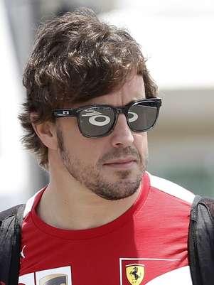 Fernando Alonso já tem o vice-campeonato garantido  Foto: AP