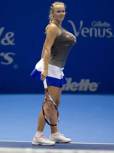5: Caroline Wozniacki (Dinamarca): tênis - 7,71milhões de pesquisas