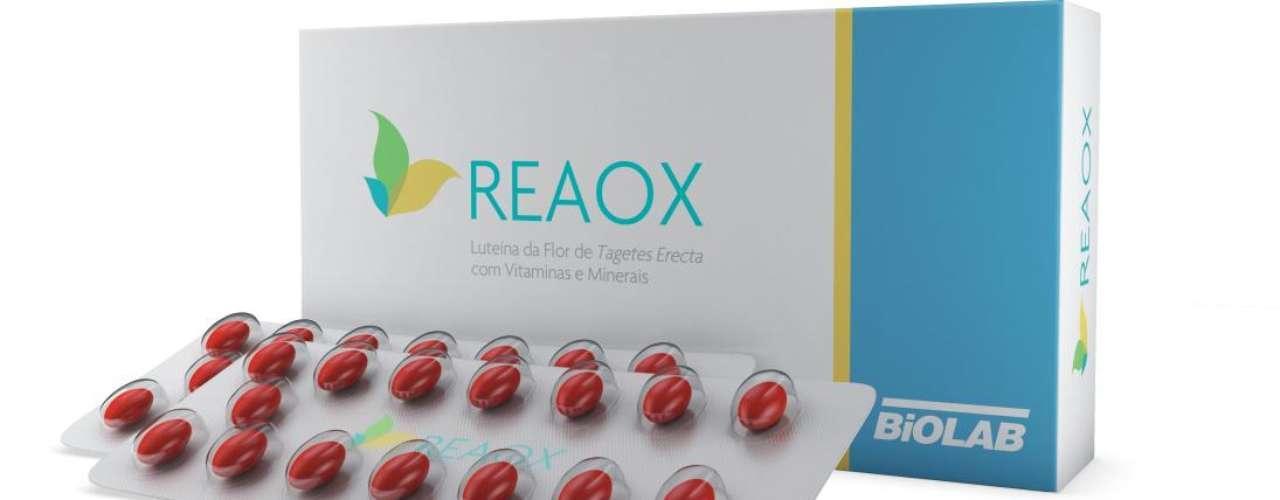 No Brasil, uma das marcas que apostam no potencial da luteína é a Biolab Sanus Farmacêutica que oferece o suplemento oral Reaox® (R$ 86), que proporciona uma proteção adicional à pele contra a radiação solar, complementando a ação dos filtros solares. SAC: 0800 724 6522