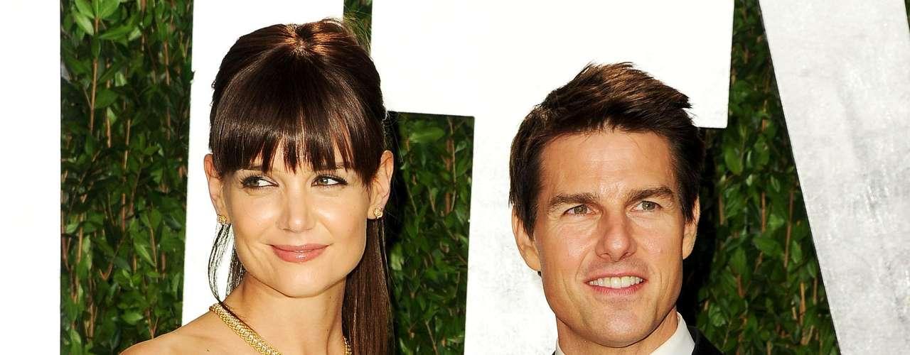 Tom Cruise é 10 cm mais baixo que Katie Holmes, que mede 1,80 m