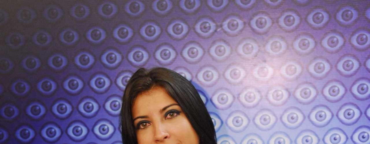 A ex-BBB Priscila Pires, vice-ganhadora da edição nove do programa global, já entrou no Reality com os seios turbinados