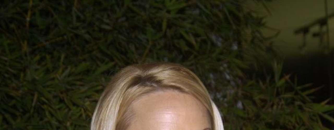 Pamela Anderson gostou tanto das próteses que aumentou os seios gradativamente desde que estreou na TV em SOS Malibu, nos anos 1990