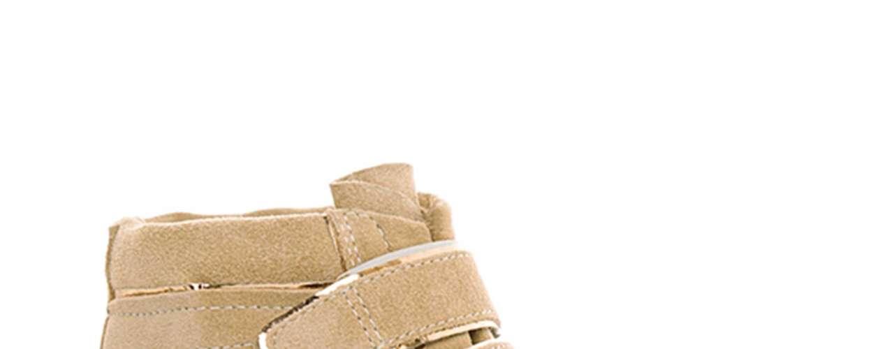 Este modelo da grife Jorge Alex tem como diferencial o fechamento em velcro. Preço sugerido: R$ 249,90. Informações: SAC (11) 3321-7700