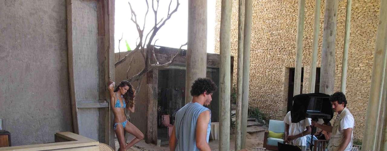 As fotos foram feitas no Kenoa Resort, em Barra de São Miguel, Alagoas