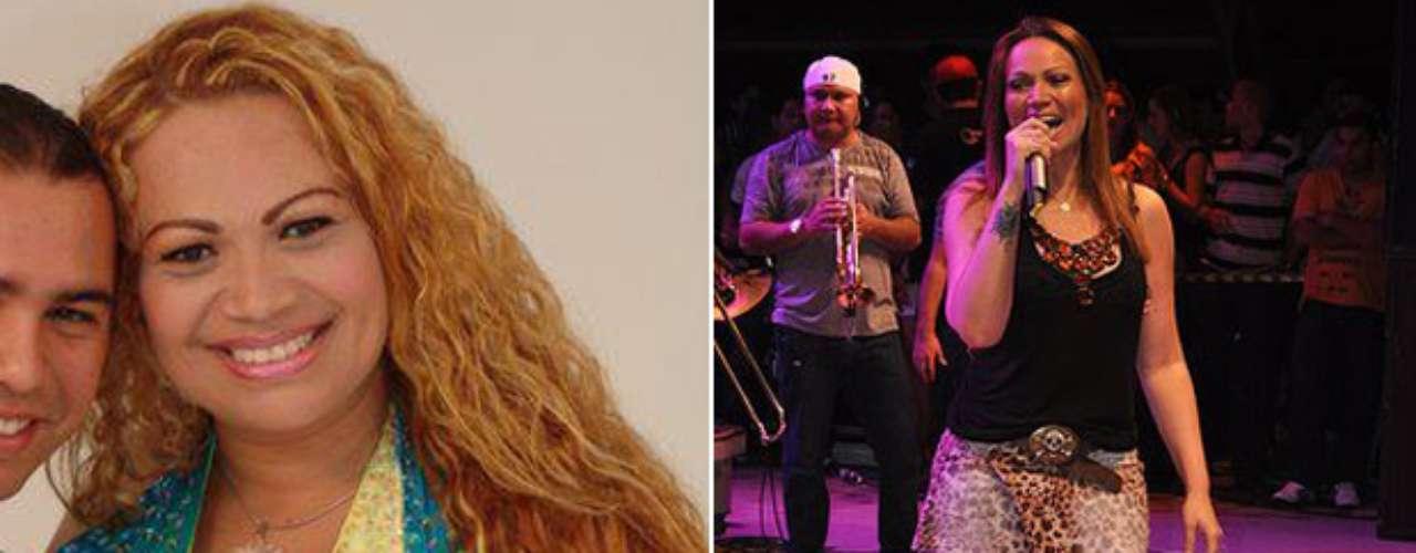 Solange, vocalista do Aviões do Forró, usava manequim 52 antes da cirurgia