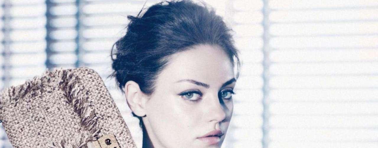 Segundo o site britânico 'Female First', a atriz sempre se sentiu tentada a modelar e está feliz por poder fazer isso para a marca francesa