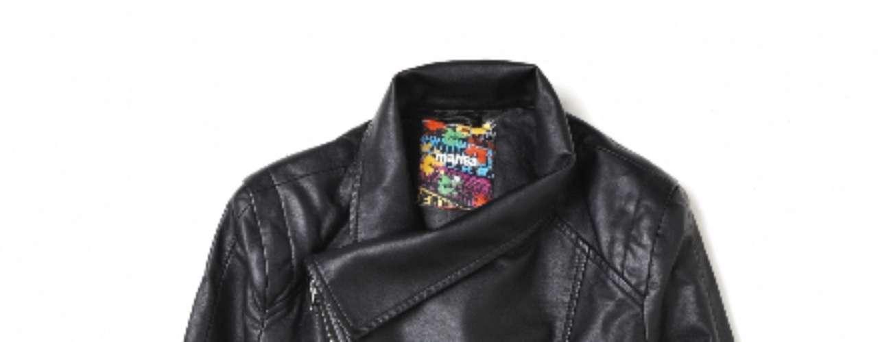 Jaqueta de couro preta Marisa, R$149,99. Serviço: Capitais - 40042211, demais localidade s- 08007281122