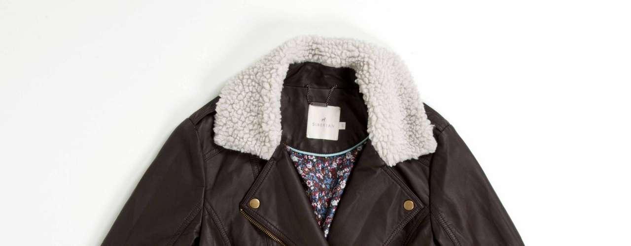 Jaqueta de couro Siberian, R$399,90. Serviço: www.siberian.com.br