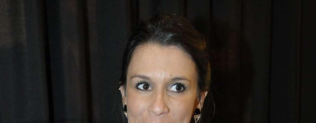 Sarah Oliveira também esteve presente no coquetel da Sephora em SP