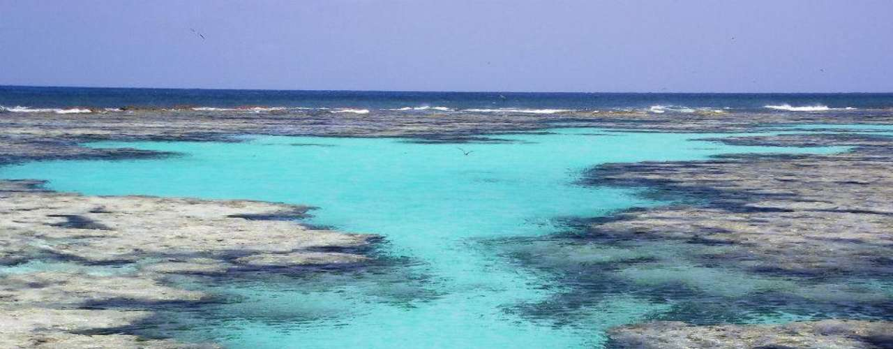 Atol das Rocas, RN: único atol do Atlântico Sul, o Atol das Rocas encontra-se a cerca de 140 km de Natal. Formado por um recife anelar, o atol é ponto de encontro de numerosas espécies marinhas como tartarugas, golfinhos e diferentes aves, e é um ponto incrível para a prática do mergulho. O atual Farol das Rocas e as ruínas do antigo farol são as únicas construções das ilhotas