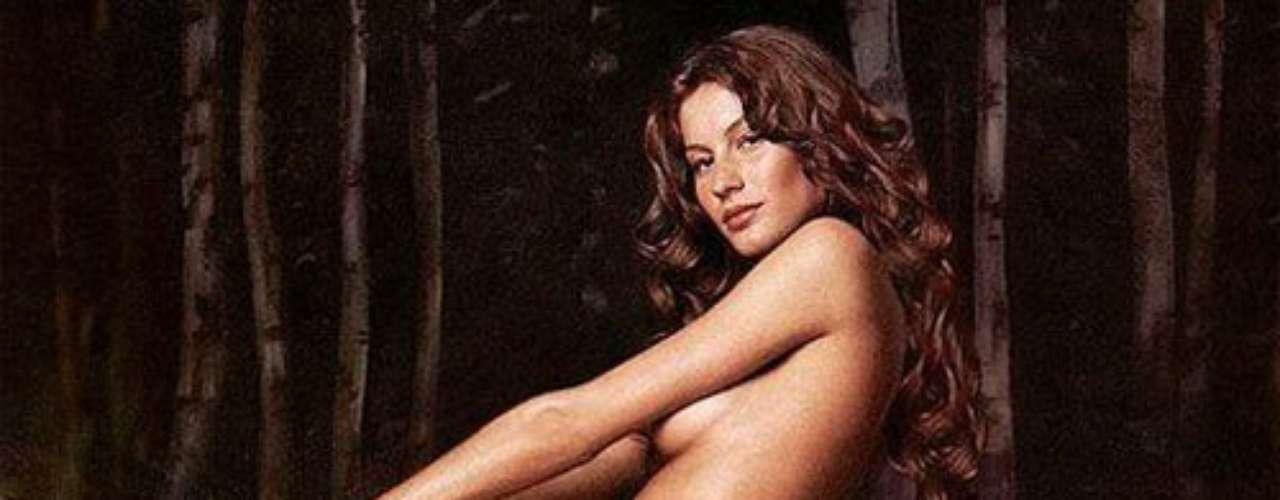 O fotógrafo Tim Mantoani escolheu uma imagem de Gisele Bündchen como a mais importante de sua carreira. A imagem é da top brasileira em um editorial da Vanity Fair de janeiro de 2000, nua e montada em um cavalo branco
