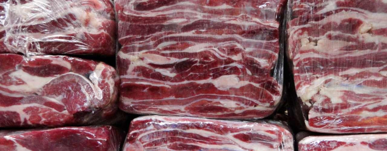 As linhas assimétricas de gordura e carne ficam ressaltadas nesta foto da leitora Karine Caldeira