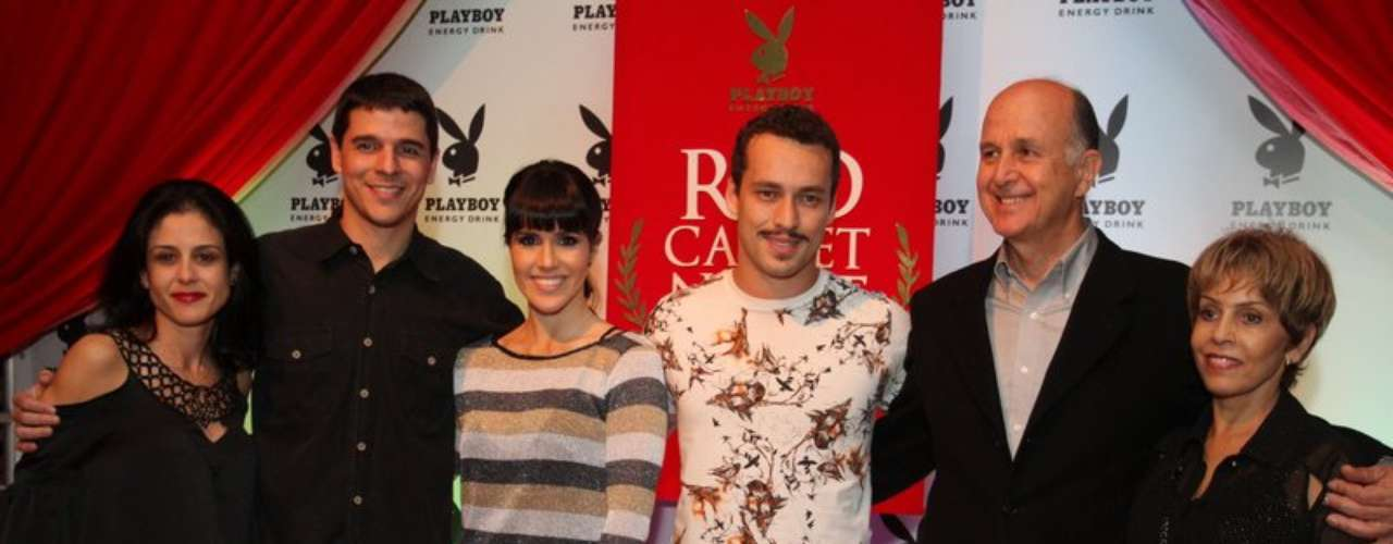 Alguns participantes do elenco de 'Gabriela' (Globo) também marcaram presença