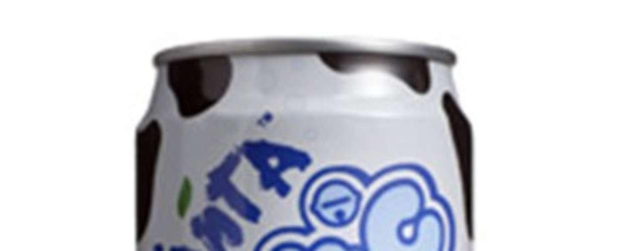 Fanta Lactic: bebida a base de leite comercializada em Hong Kong