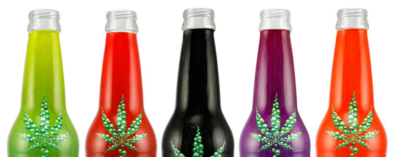 Canna Cola: vendida da América do Norte, as bebidas da Canna Cola têm maconha entre os ingredientes
