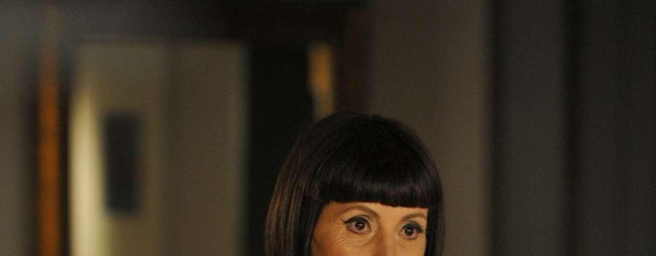 A personagem Melissa (Cassia Kiss Magro), de Amor Eterno Amor, aparece no ranking por conta do batom roxo