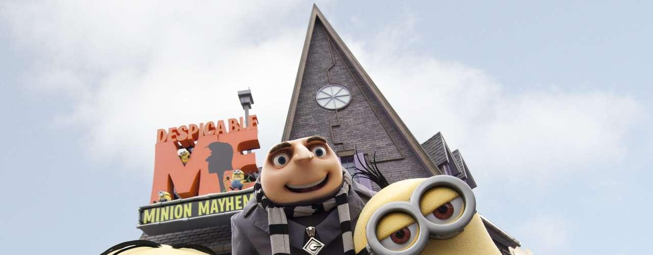 14. Universal Studios Florida, Estados Unidos: parque temático voltado para o mundo dos filmes, o Universal Studios ficou atrás de seu principal competidor, o Hollywood Studios, com pouco mais de 6 milhões de visitantes em 2011. Para este ano, o parque traz novidades, como uma atração 3D do filme Meu Malvado Favorito e uma comemoração dos 100 anos dos filmes Universal