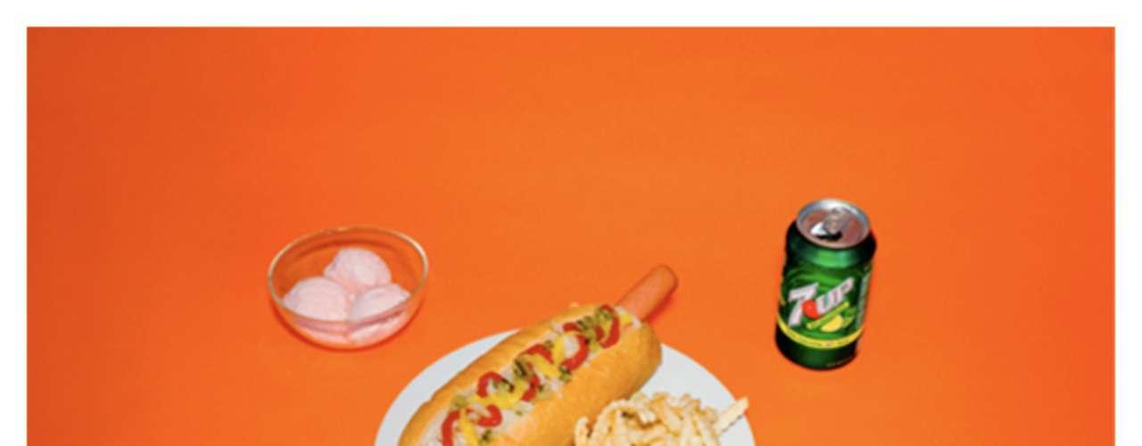 Cachorro quente, batata frita, refrigerante e sorvete compuseram a última refeição deste condenado