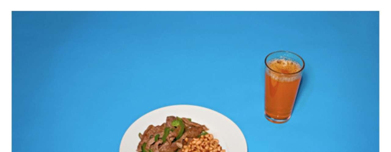 Feijão, carne e suco foram os pedidos de um dos prisioneiros