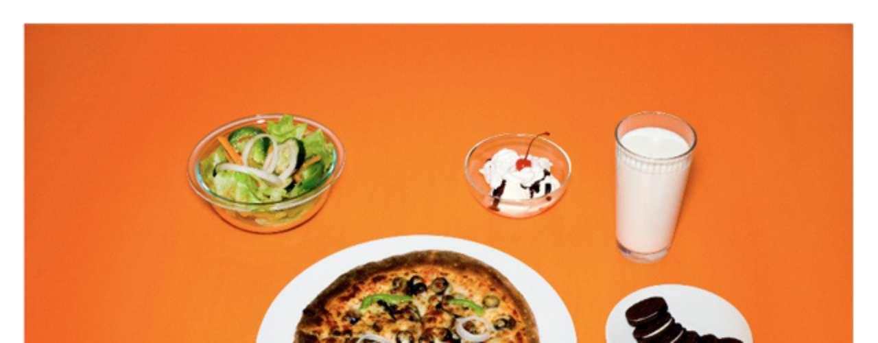 Pizza, salada verde, bolachas e leite foram os últimos alimentos consumidos por um dos prisioneiros