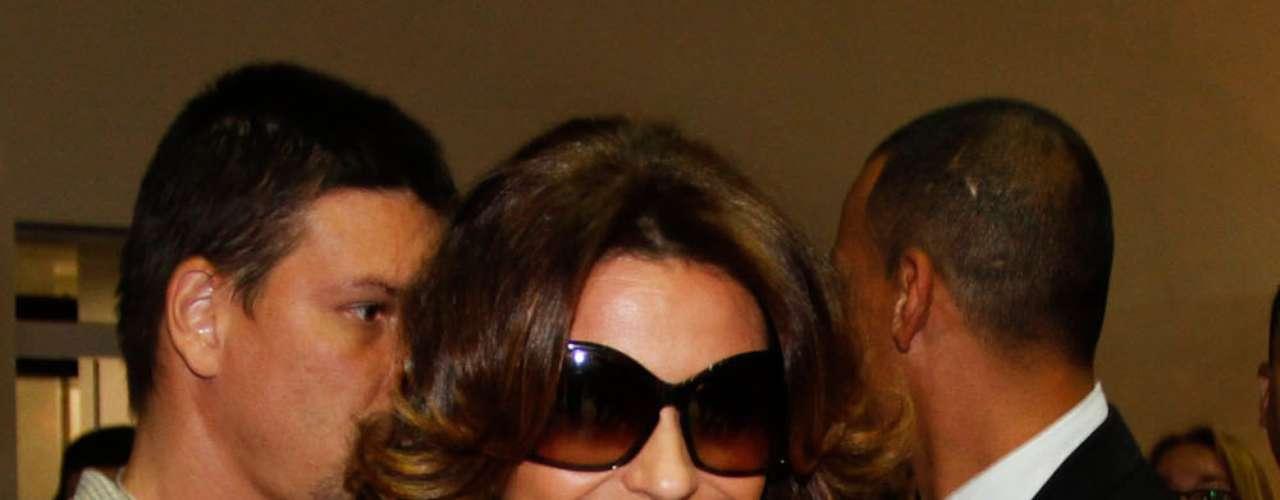 Giovanna contou durante o evento que, se não estiver um penteado \