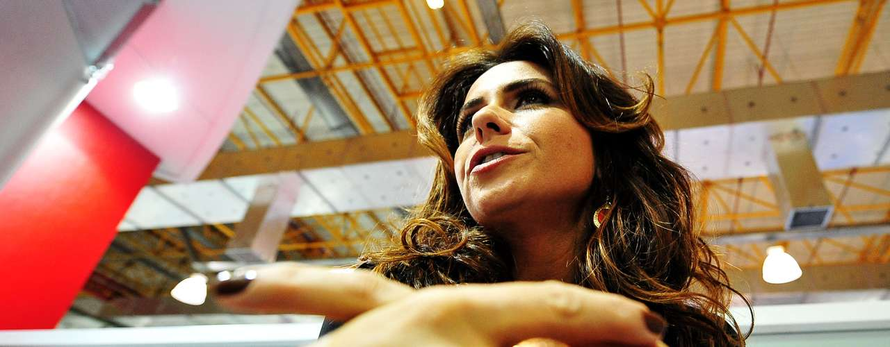 Apesar de já estar com 36 anos, Giovanna afirmou que se sente mais saudável agora do que quando tinha por volta dos 20 anos de idade. \