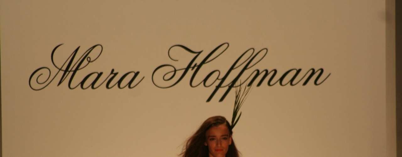 O desfile da estilista Mara Hoffman foi um dos destaques do terceiro dia da semana de moda de Nova York