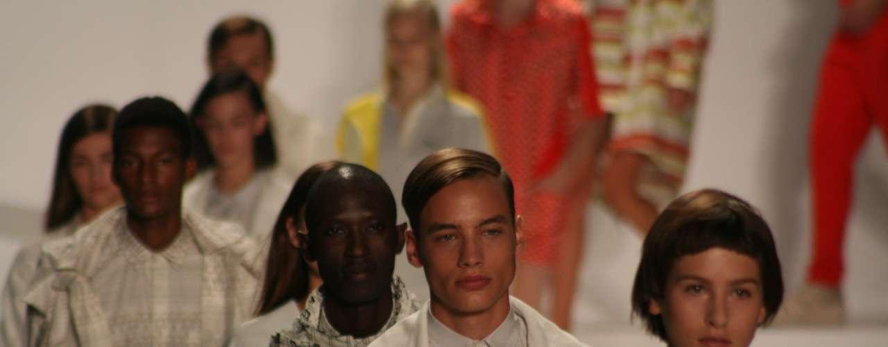 Desfile da Lacoste na semana de moda de Nova York