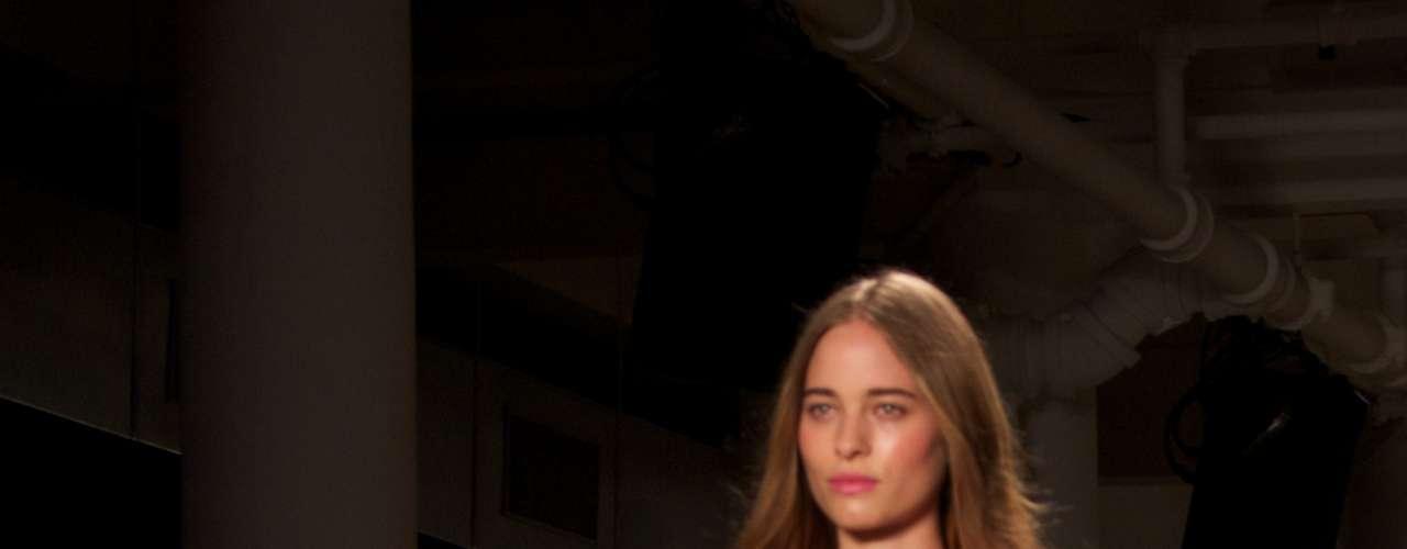 Desfile de Alexandre Herchcovitch na semana de moda de Nova York