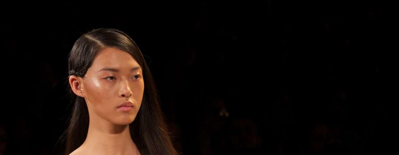 Desfile da grife Hérve Léger na semana de moda de NY