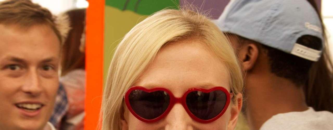 Durante o verão os óculos de sol viram artigo indispensável nas ruas de Nova York
