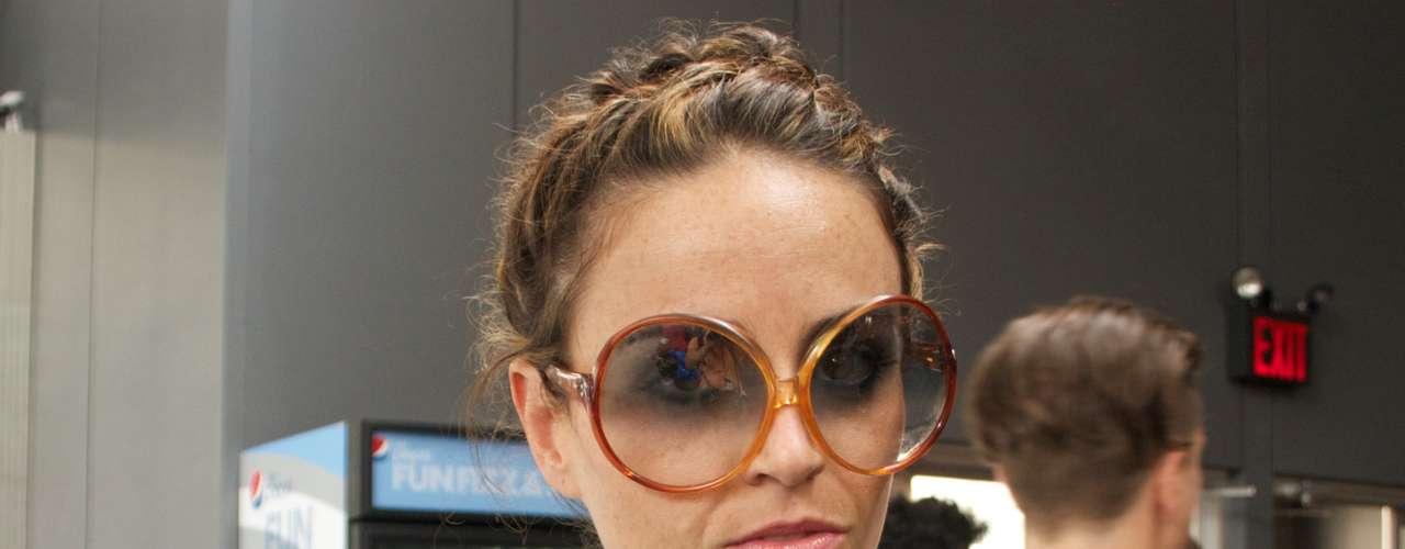 As lentes em degradê também marcam presença nas ruas de Nova York