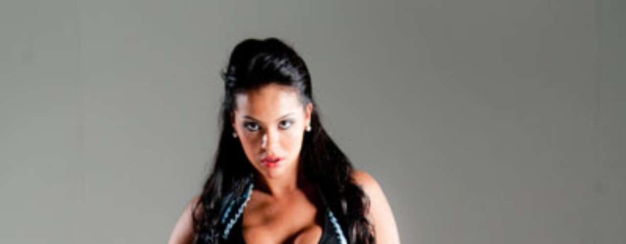 Aline Bernardes, que representa o Mato Grosso na disputa pelo Miss Bumbum 2012, fez um ensaio sensual
