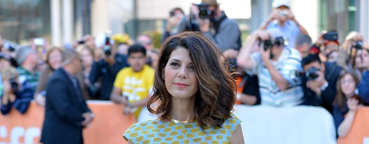 Marisa Tomei, 47 - A atriz viveu uma stripper no cinema aos 43 anos em O Lutador, com Mickey Rourke, e admitiu que ficou mais ousada com o passar dos anos. \