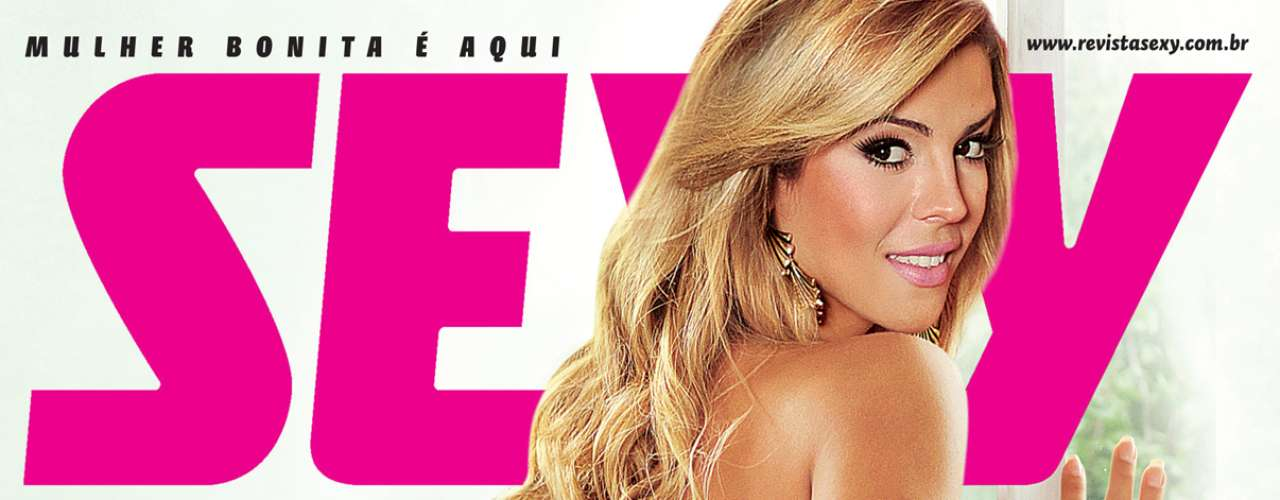 Dona do bumbum mais belo do Brasil posou nua para a revista Sexy, em dezembro de 2011