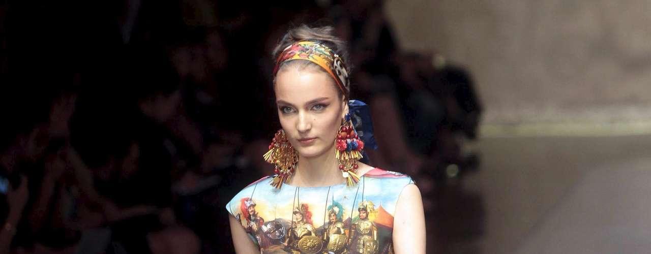 Desfile da Dolce & Gabbana