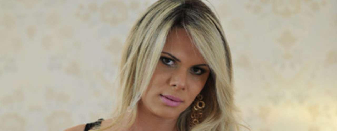 A modelo é candidata de Goiás pelo Miss Bumbum Brasil 2012