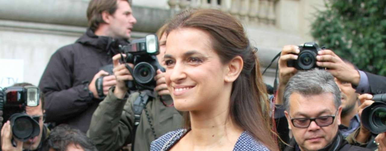 A atriz francesa Joana Preiss optou por um looks verão