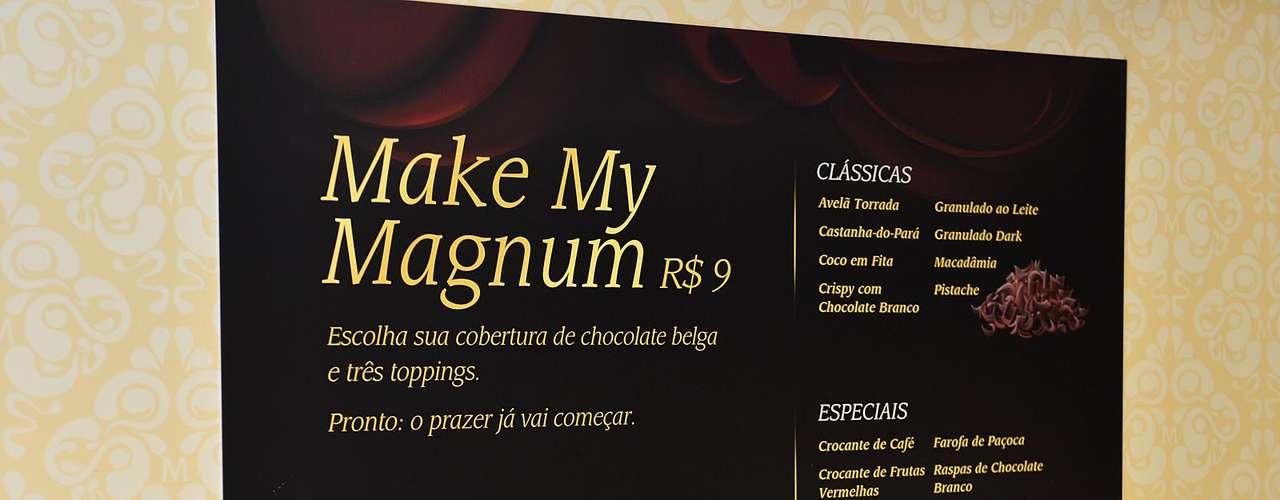 O sorvete Magnum foi lançado em 1989 e está entre os mais vendidos da Europa. O sorvete foi relançado no Brasil em 2008 e é produzido com chocolate belga, que é considerado um dos mais apreciados entre especialistas no assunto