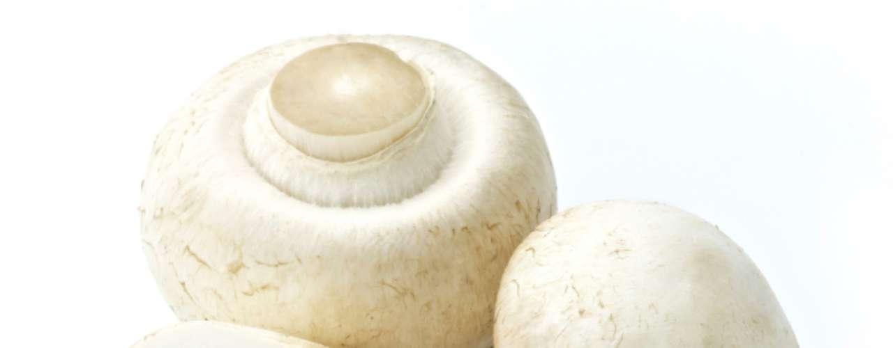 Cogumelos (15 calorias por xícara) - saboroso e com baixas calorias, os cogumelos são também diversos e podem ser encontrados de algumas variedades, como Portobello, shitake e maitake. Felizmente, a maioria destes tipos contém algum tipo de antioxidante, além de potássio, vitamina B, D, B6, fibra e fósforo