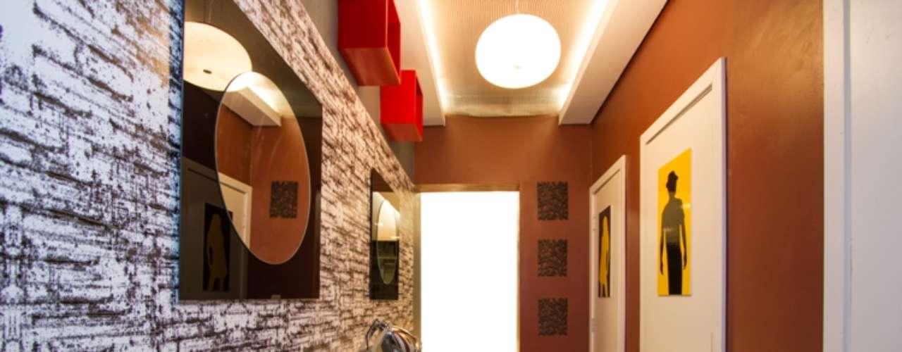 Projeto inspirado na Temakeria, o Banheiro dos Restaurantes, de Martha Fonseca, Renata Goes e Giovana Goes,  segue o mesmo padrão