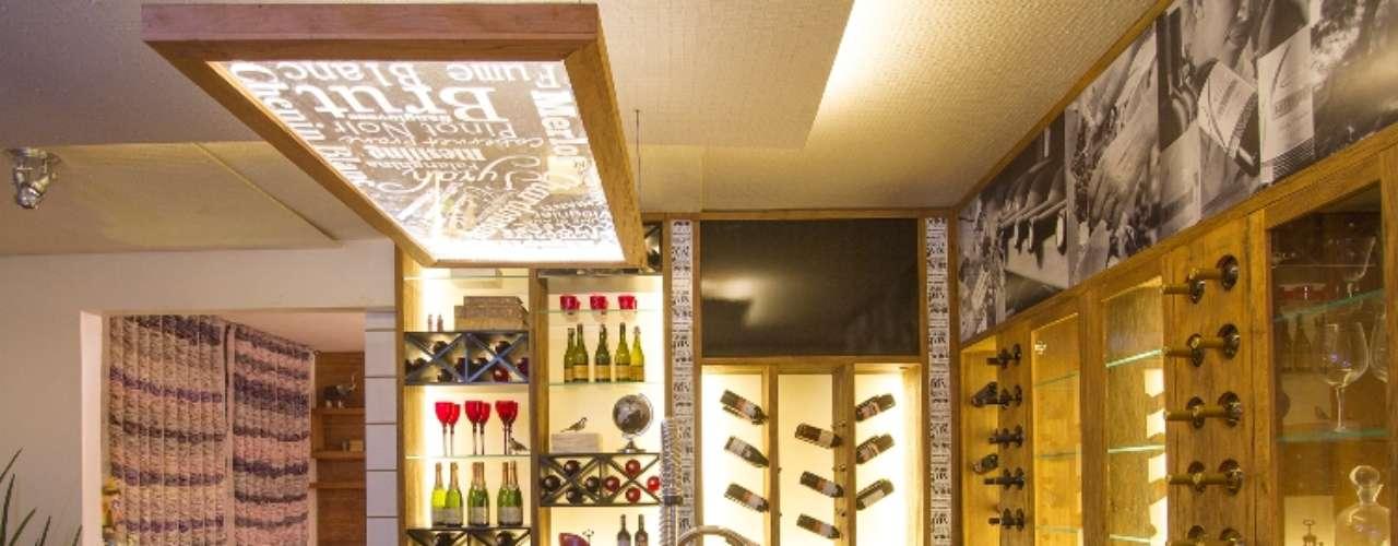 O projeto Wine Bar, de Sonia e Mayara Stecca, busca o conceito de versatilidade e sustentabilidade, a partir da utilização de materiais sustentáveis, que não agridem ou têm menor impacto sobre o meio ambiente