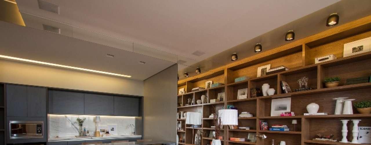 O projeto Loft da Modelo foi pensado misturando peças contemporâneas e objetos vintage. A ideia da arquiteta Elaine Carvalho é produzir um ambiente sofisticado e moderno, ideal para uma supermodelo