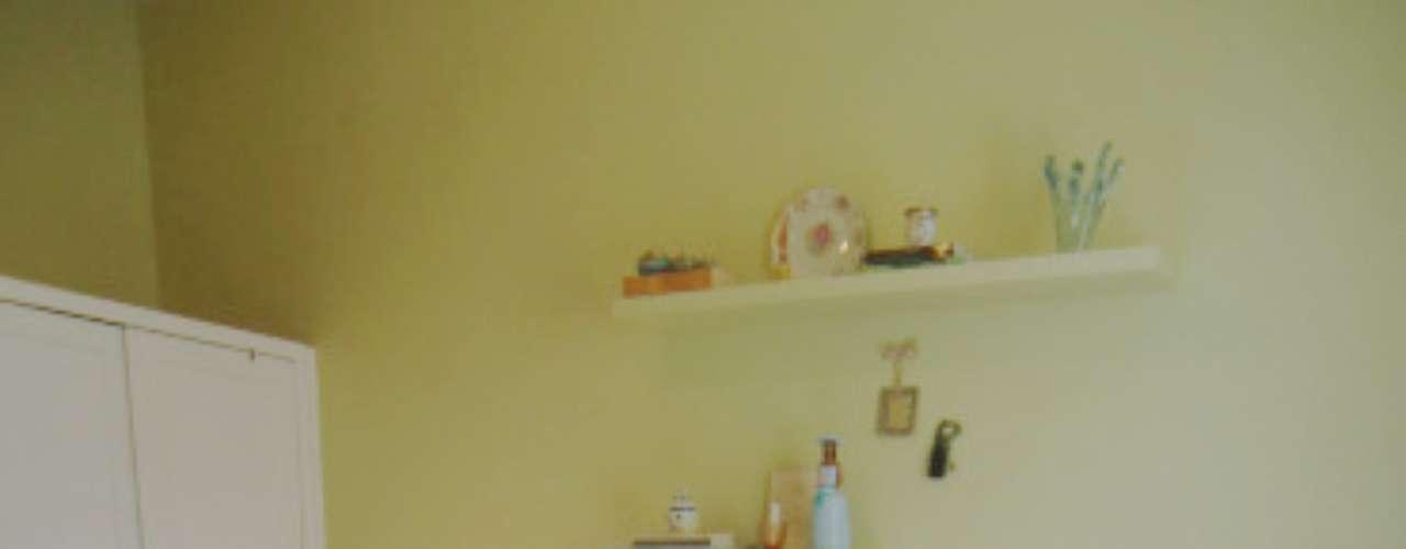 Este quarto é de um apartamento no Rio de Janeiro que a arquiteta Alexandra Albuquerque projetou para a irmã. Informações: (11) 98305-2095
