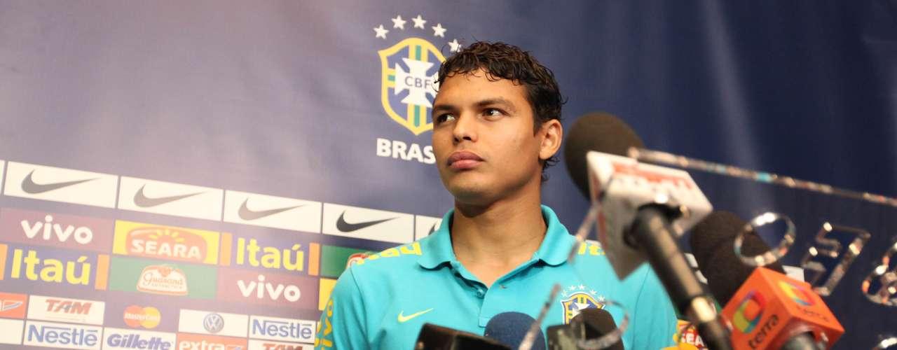Capitão da Seleção, Thiago Silva comentou sobre o retorno do atacante Fred, que voltou a ser convocado por Mano Menezes para o segundo confronto com a Argentina pelo Superclássico das Américas