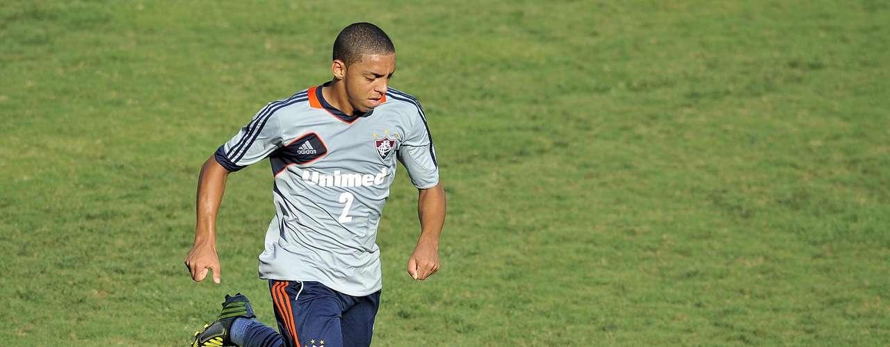 Jovem lateral direitoWallace, revelação do Fluminense, será jogador doChelsea a partir de janeiro
