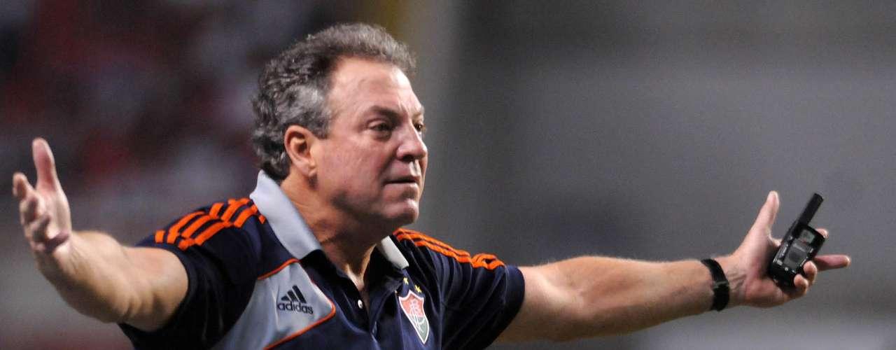 Treinador: Abel Braga (Fluminense)