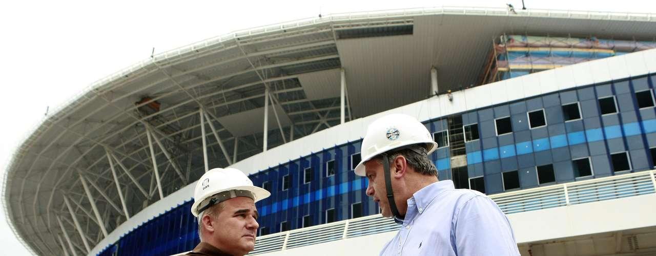 Arena do Grêmio está pronta para inauguração, marcada para 8 de dezembro